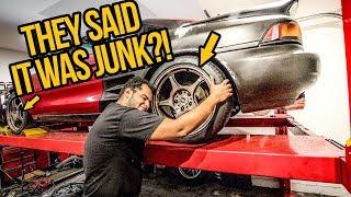 Download My $1000 Toyota MR2 Turbo Gets Junkyard JDM Wheels And Big Brakes! - MR2 Build Pt 7 Video