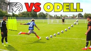 Download ODELL'S OUTRAGEOUS SOCCER SKILLS | F2 vs Beckham Jr 😱🏈⚽️ Video