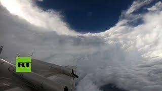 Download Así es el ojo del huracán Florence desde dentro Video