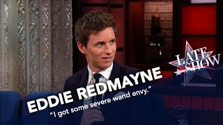 Download Eddie Redmayne Shows Off His Wand Skills Video