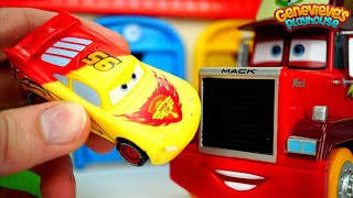 Download Best Toy Car Learning Video for Kids Disney Cars Color Changing Lightning McQueen & Monster Trucks Video