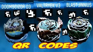 Download QR CODES VALTRYEK V3 DOOMSCIZOR D3 BLAST JINNIUS Video