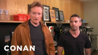 Download Conan Takes Jordan Schlansky Coffee Tasting - CONAN on TBS Video
