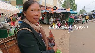 Download Vietnam || Di Linh Market || Lam Dong Province Video