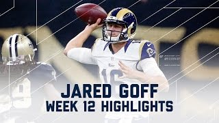Download Jared Goff's Breakout Performance with 3 TDs! | Rams vs. Saints | NFL Week 12 Player Highlights Video