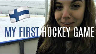 Download My first Ice Hockey game | My life in Finland Video