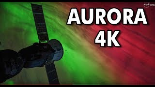 Download NASA UHD Video: Stunning Aurora Borealis from Space in Ultra-High Definition (4K) Video
