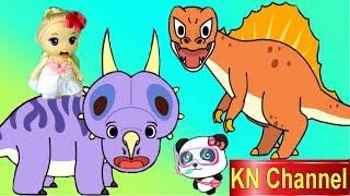 Download Trò chơi KN Channel BÚP BÊ LẠC VÀO THỜI TIỀN SỬ KHỦNG LONG tập 2 | KHỦNG LONG 3 SỪNG Video