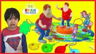 Download WHO TOOTED Whoopie Cushion gas game for Kids! Egg Surprise Toys with Ryan ToysReview Video