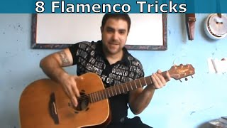 Download 8 Flamenco & Spanish Guitar Tricks Every Guitar Player Should Know [Tutorial] Video