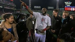 Download Big Papi named World Series MVP Video
