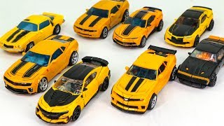 Download Transformers Movie 1 2 3 4 5 Deluxe Class Bumblebee Camaro Car 8 Vehicle Robots Toys Video