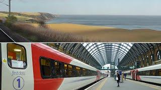 Download London to Edinburgh by train Video