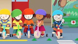 Download T'choupi à l'école - Le vélo rouge tout neuf (EP.5) Video