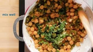 Download Channa Masala Lettuce Wraps Recipe Video