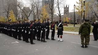 Download Military band plays Leonard Cohen's 'Hallelujah' - Remembrance Day Montreal 2016 RME 8577 Video