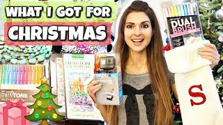 Download WHAT I GOT FOR CHRISTMAS 2017 | FASHION & CRAFT HAULS! by SoCraftastic Video