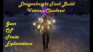 Download Dragonknight Tank Build For Vet Cloudrest +1/+2/+3 Hard Mode | ESO Wolfhunter Video