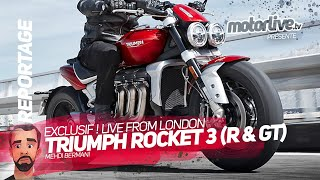 Download TRIUMPH ROCKET 3 R et ROCKET 3 GT 2020 | MOTORLIVE Video