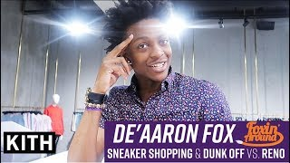 Download Foxin' Around: De'Aaron Fox goes Sneaker Shopping at Kith, Dunk off vs. Reno, & explores E3 Video