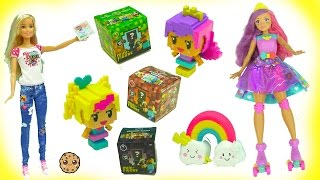 Download Video Game Hero Barbie Dolls + MineCraft Surprise Mystery Blind Bag Boxes Video