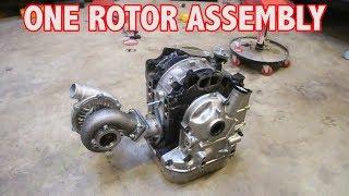Download 11k RPM Mazda ONE ROTOR Assembly Begins!! PORSCHE SPEEDSTER ONE ROTOR BUILD! Video