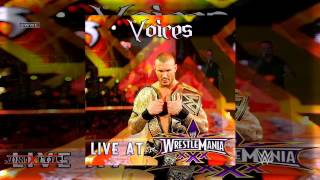 Download WWE: Voices (Randy Orton) [Live at WrestleMania 30] by Rev Theory Video