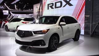 Download 2019 ACURA MDX A-SPEC | New York international Auto Show 2018 Video