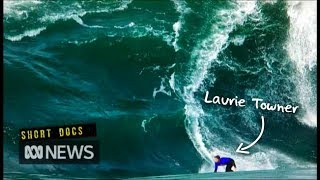 Download When the wave breaks there, don't be here: The story of Laurie Towner Video