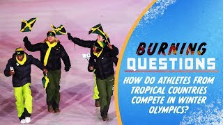 Download Can Athletes from Tropical Countries compete in Winter Olympics? | Burning Questions Video