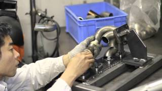 Download THE MAKING of 240SX Custom Exhaust Manifold made to suit the new Turbo position ~TOMEI POWERED~ Video