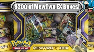 Download Opening 10x MewTwo Ex Boxes! - New 2016 ones! - Pokemon TCG unboxing Video