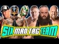 Download Rey Mysterio & John Cena & Kalisto VS Brock Lesnar & Braun Strowman & Big Show | WWE 2K17 Video
