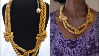 Download How to make a rope necklace | Nik Scott Video