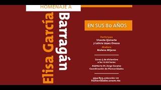Download Homenaje a Elisa García Barragán. En sus 80 años Video