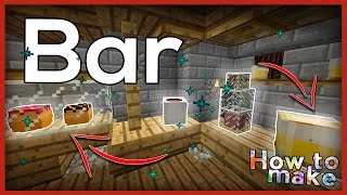 Download Minecraft: How to build and decorate a bar! Video