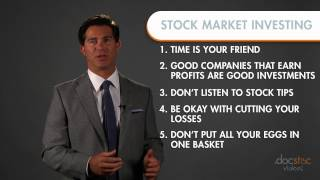 Download 6 Rules For Successful Stock Market Investing Video