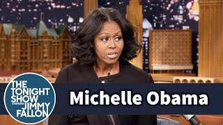 Download First Lady Michelle Obama Gets Emotional Saying Goodbye Video