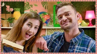 Download MAYBABY BECOMES JUSTIN TIMBERLAKE'S ASSISTANT | Hey Guys, It's Meg! Video