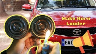 Download How to make car horn Louder TATA Tigor or any car | How to install horn CHSKY klaxon + Giveaway Video