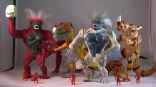 Download From Pixels to Plastic: Primal Rage Action Figures by Playmates Toys Video