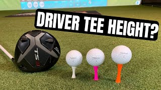 Download HIT LONGER DRIVES BY USING THE CORRECT TEE HEIGHT FOR YOU! Video