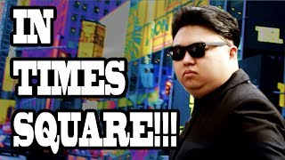 Download Fake Kim Jong Un Pranks New York City Times Square!! (10 Hours of Walking - Part 3) Video