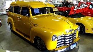 Download 1952 Chevrolet Suburban 3100 Carry All Custom Hot Rod 350 V8 Video