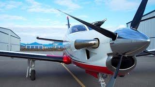 Download PPL / IFR Turboprop Flying - TBM850 - Turbine engine start - ATC audio + Ferrari :) Video