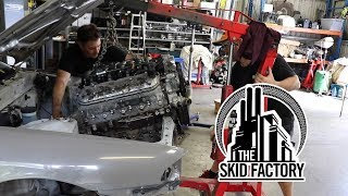 Download THE SKID FACTORY - Turbo LS1 R32 Skyline [EP1] Video