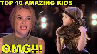 Download [MOST AMAZING KIDS] BEST TOP 10 AUDITIONS EVER ON BRITAIN'S GOT TALENT! Video
