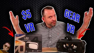 Download $5 VR vs Samsung Gear VR How bad can it be? Video