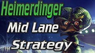 Download The Best way to climb with Heimerdinger Mid Lane- Patch 6.22 Video
