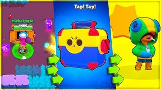 Download Collect GEMS. Open BRAWL BOXES. Unlock LEON?! Brawl Stars with Nickatnyte Video